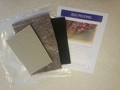 about area rug padding
